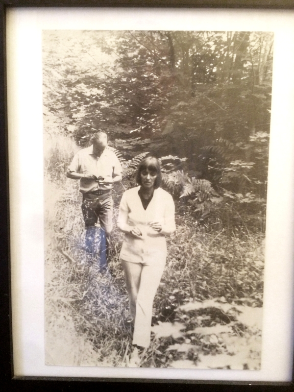 my mom and dad. vancouver island. 1974