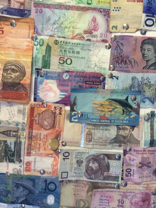 foreign currency on ceiling.jpg