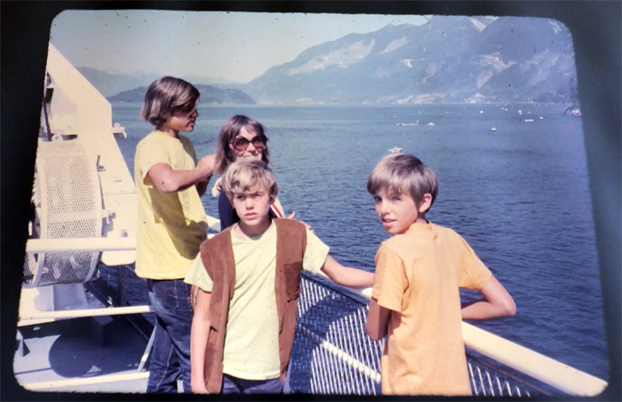 ferry to vancouver island, 1970