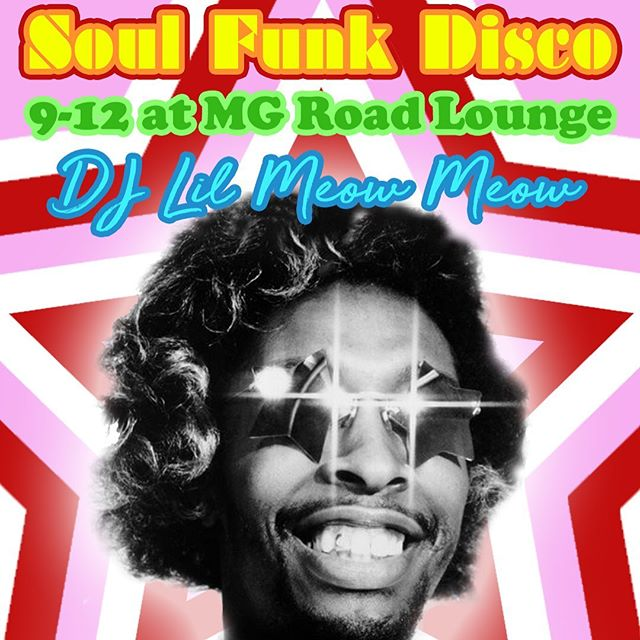 TONIGHT! DJ Lil Meow Meow does not play around when it comes to soul/funk/disco so this is a party you don't want to miss. As we are getting closer to the final days of MG Road, now is the time to savor every moment with us while you still can. Dance party starts at 9 tonight, we've got $5 well drinks, $5 daiquiris, $2 High Life bottles and more! 🕺❤️✌️ • • • • #mgroad #mgroadlounge #disco #soul #funk #danceparty #bestbarinamerica #rip