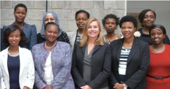 What an HONOR to serve 24 high-caliber board level delegates from East African corporations and organizations. FEARLESS FEMALES!