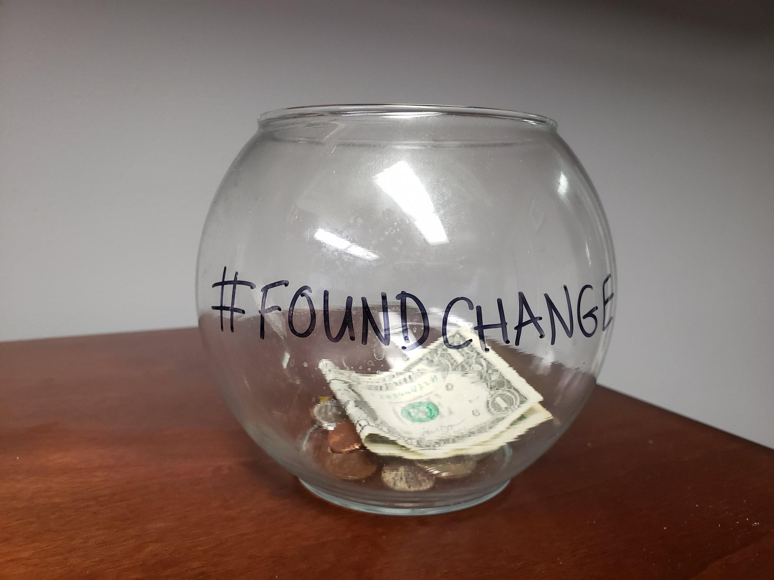 Angela Flouras Rieck Found Change