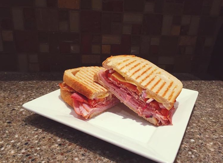 Meat Lovers Panini