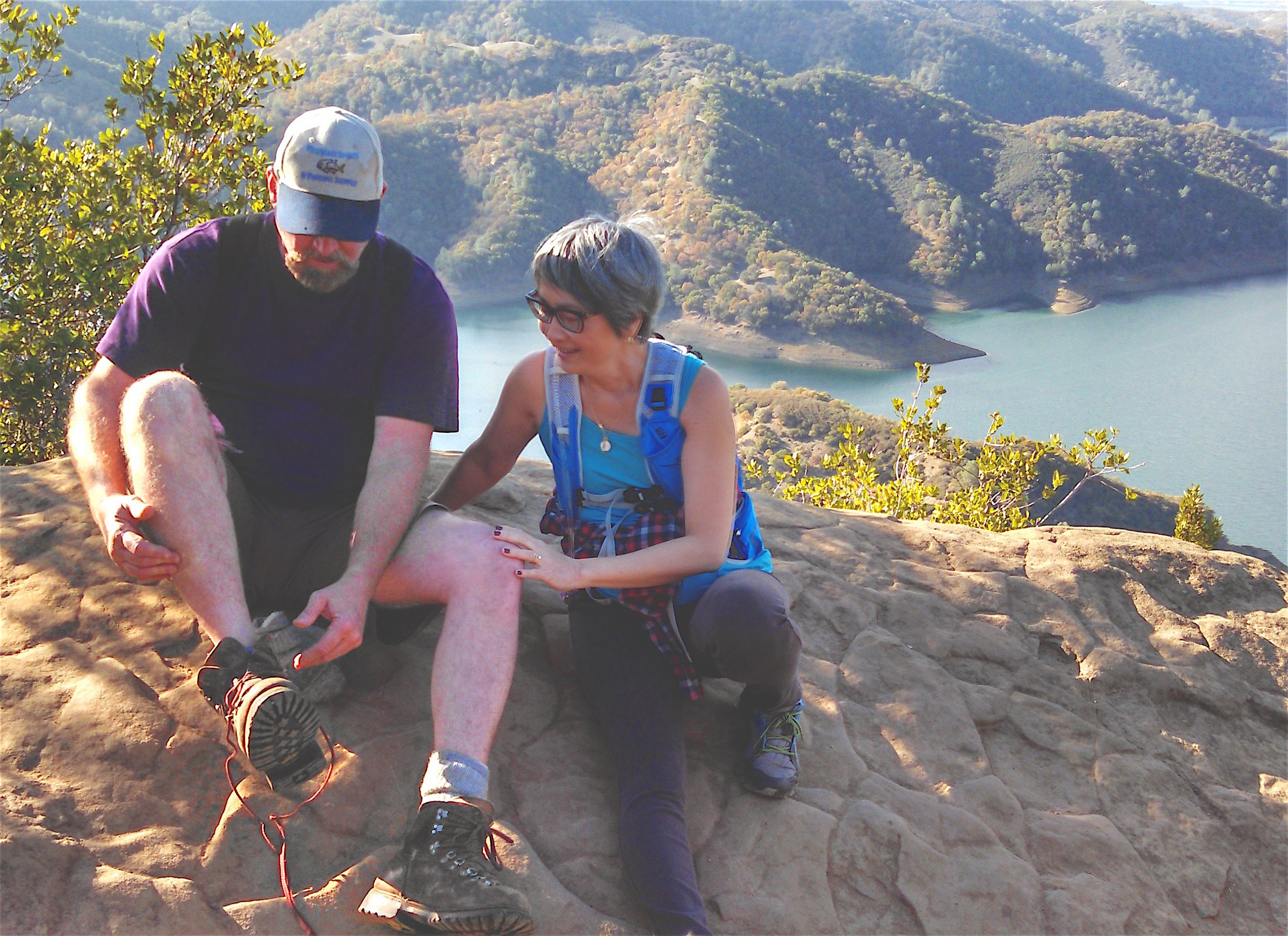Top of Berryessa Lake. Napa County. California. 2015.www.chibeingchi.com