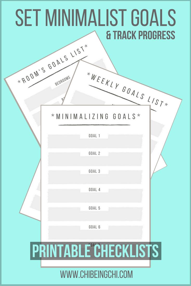 Printable or Editable Checklists