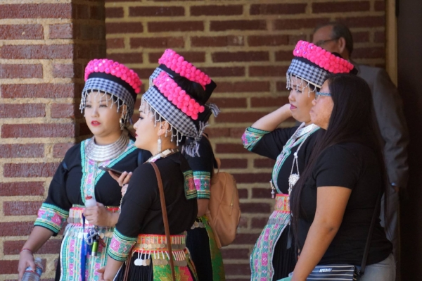 Hmong Dancers at FCC APICS. 2018