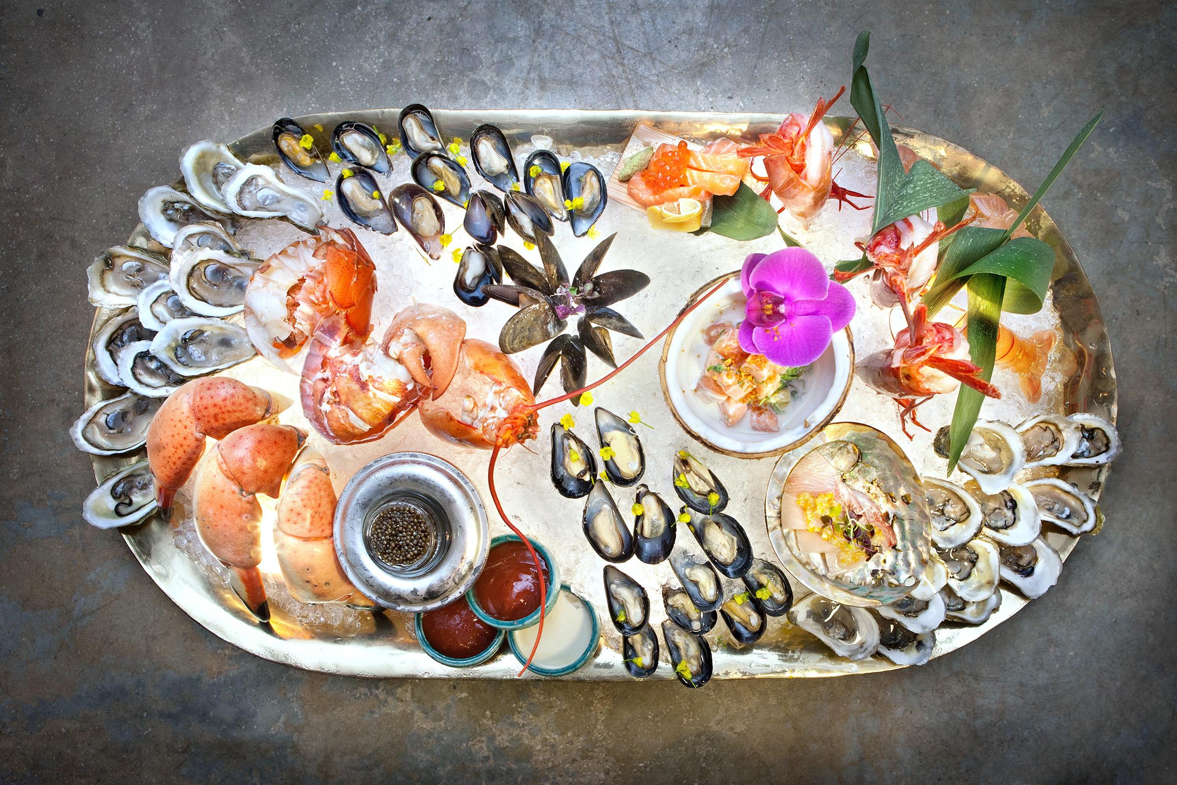 Seaspice Seafood Sampler
