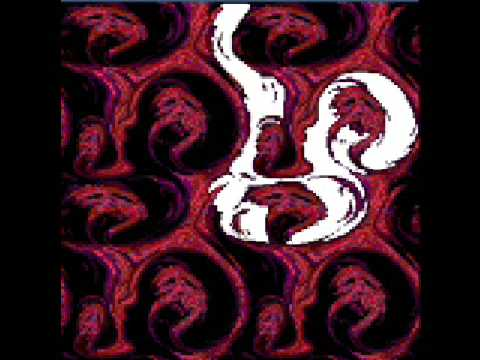 An image of Giygas that as been edited to show the image of a fetus in the negative space of his sprite.