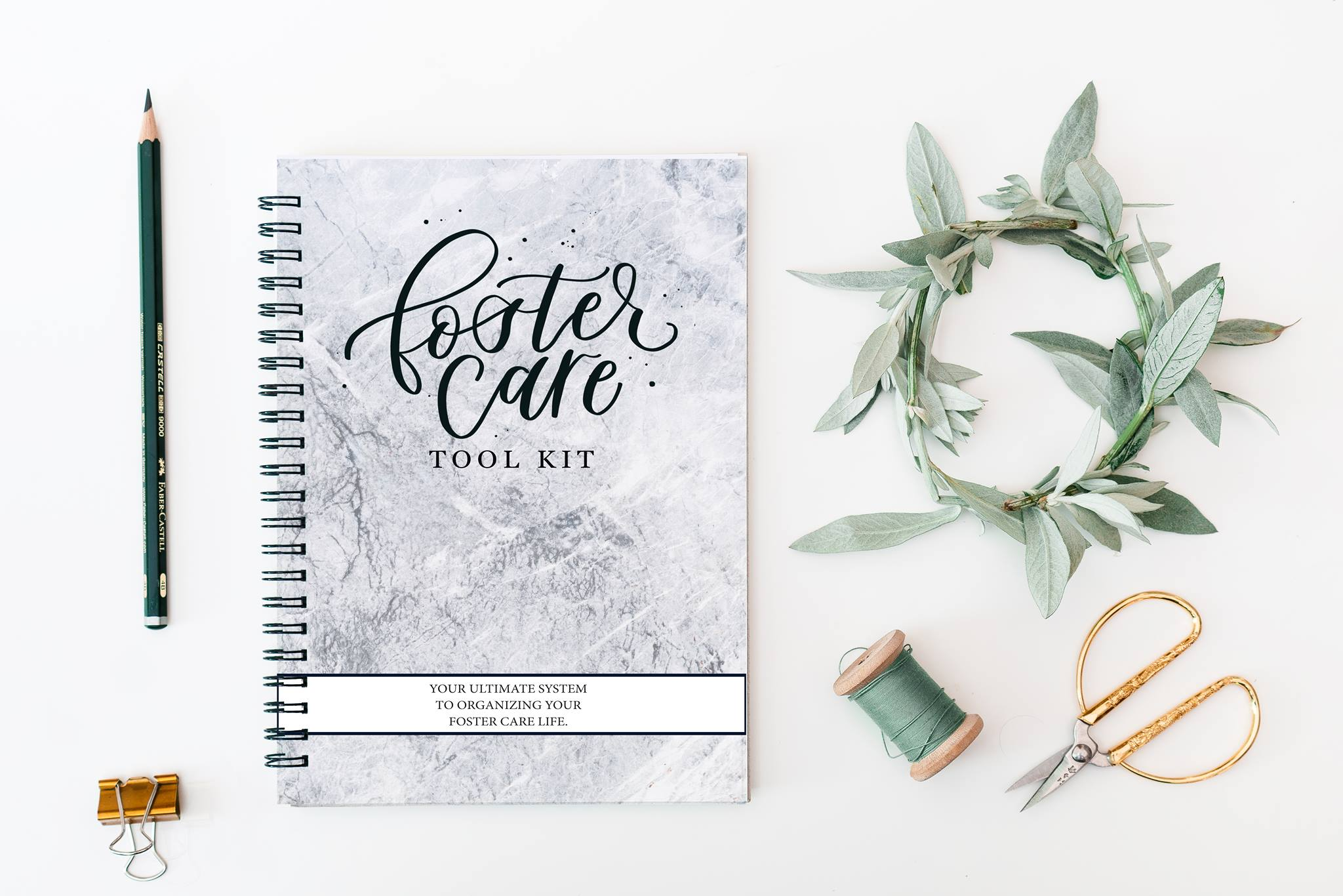 THE FOSTER CARE   TOOL KIT - YOUR ULTIMATE SYSTEM TO ORGANIZING YOUR FOSTER CARE LIFE.