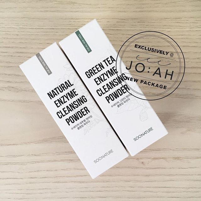 Look 👀 who's here! Our all time favourite Soonature powder cleansers!!! Renewed with a new face & better formula, freshly launched! 👍👍😉👍👍👍👍 Exclusively @_jo_ah_ 💕