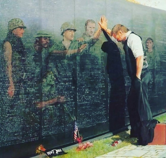 Not sure who made this image, but it speaks volumes!  Please take a few minutes today to remember the real heroes! . . . #gonebutnotforgotten #murica