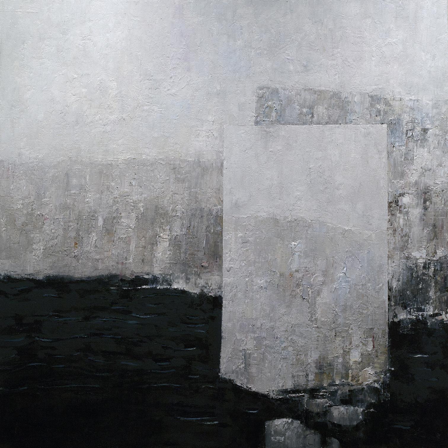 """Frozen""  45x45 in. 114x114 cm.  oil on canvas  2017"