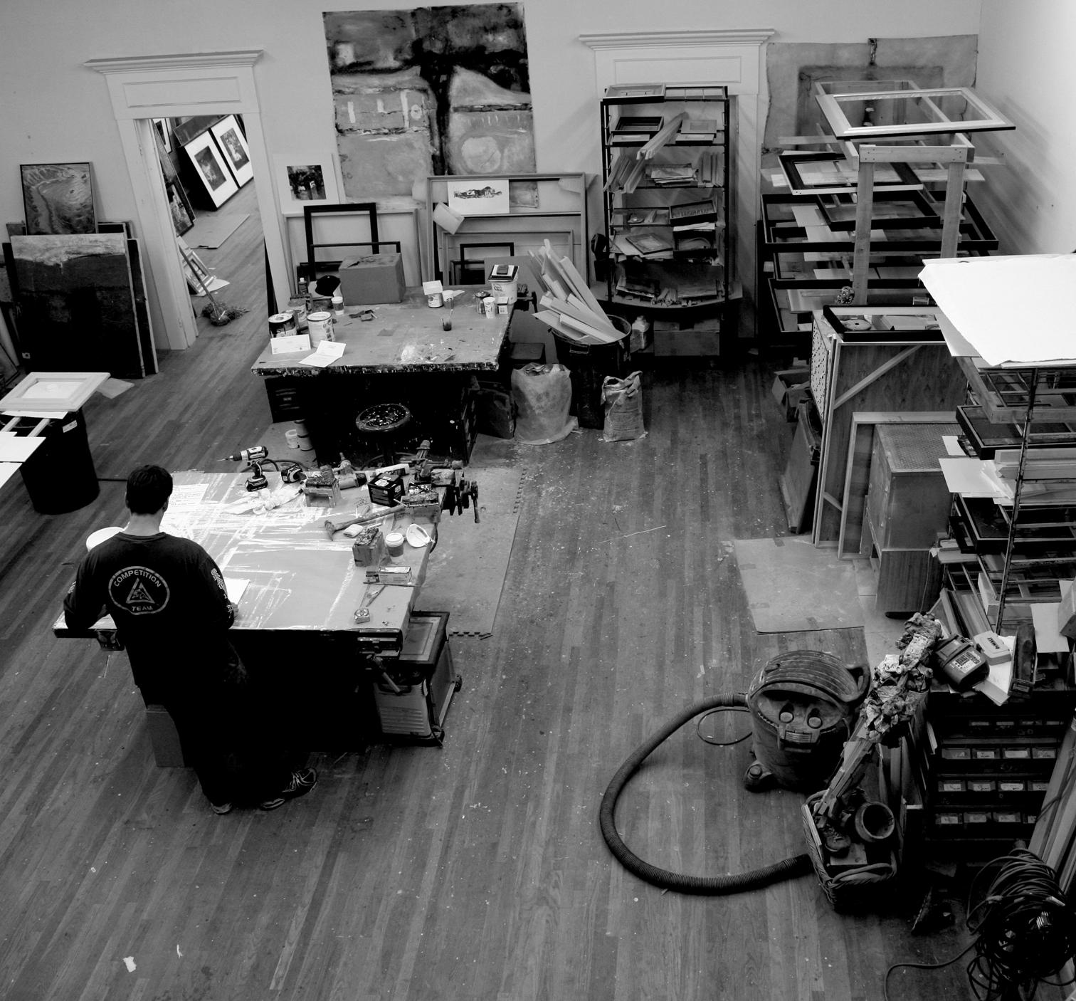 Torrance studio  back room