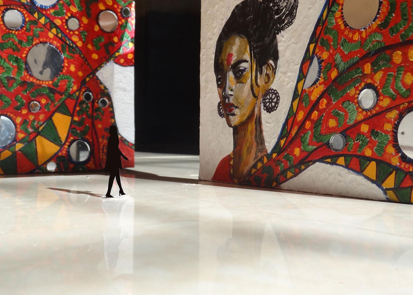 Tana Bana(Indian Exhibition Design) -