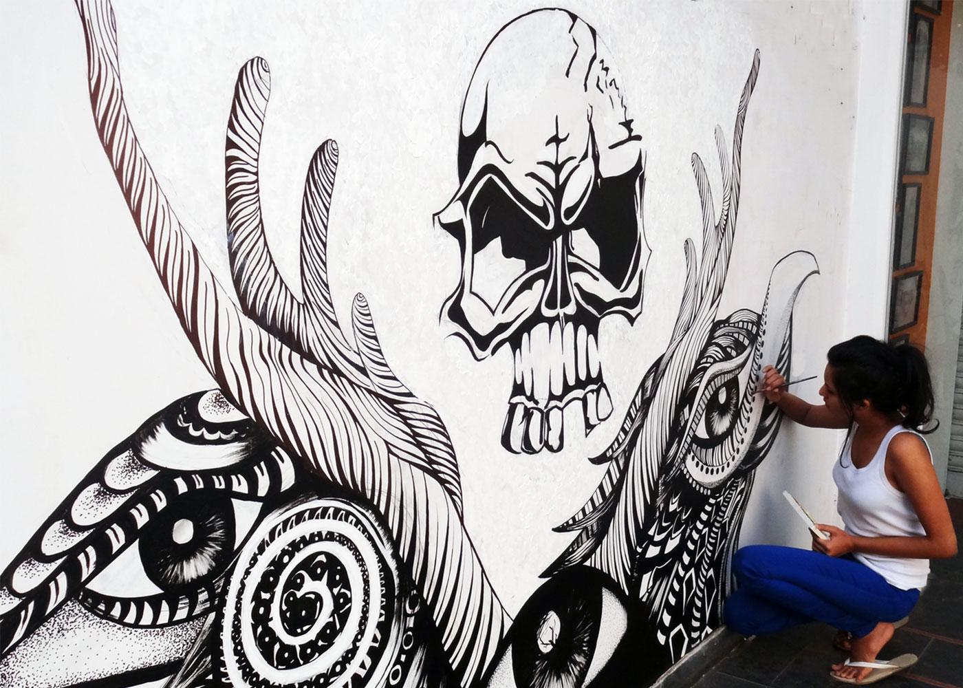 Alien's Tattoos (Graffiti /Art) -