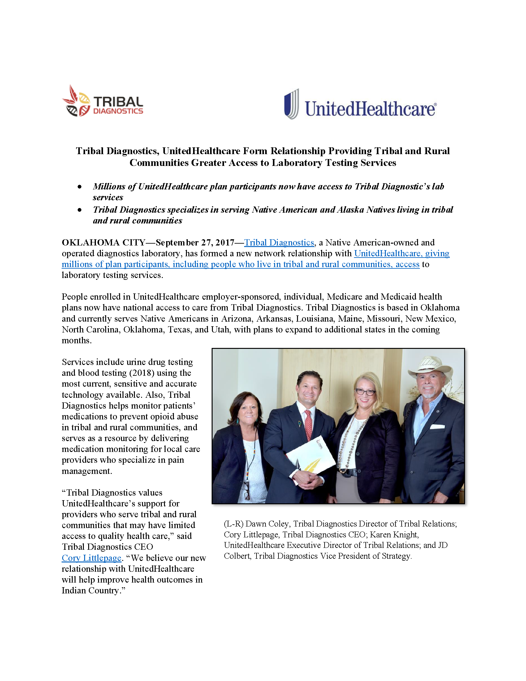Press-Release_TD-UHC-Partnership_09-27-17_FINAL_w-photo_Page_1.png