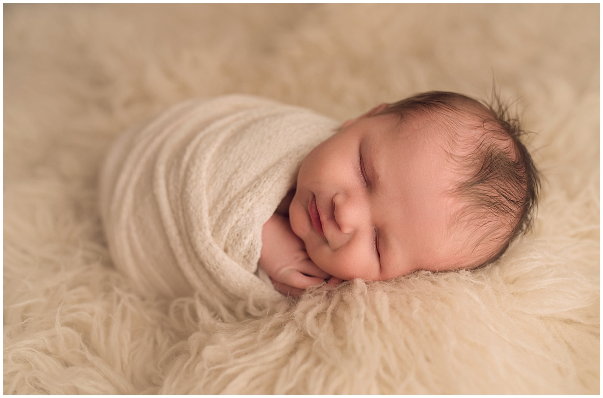 Newborn boy photoshoot