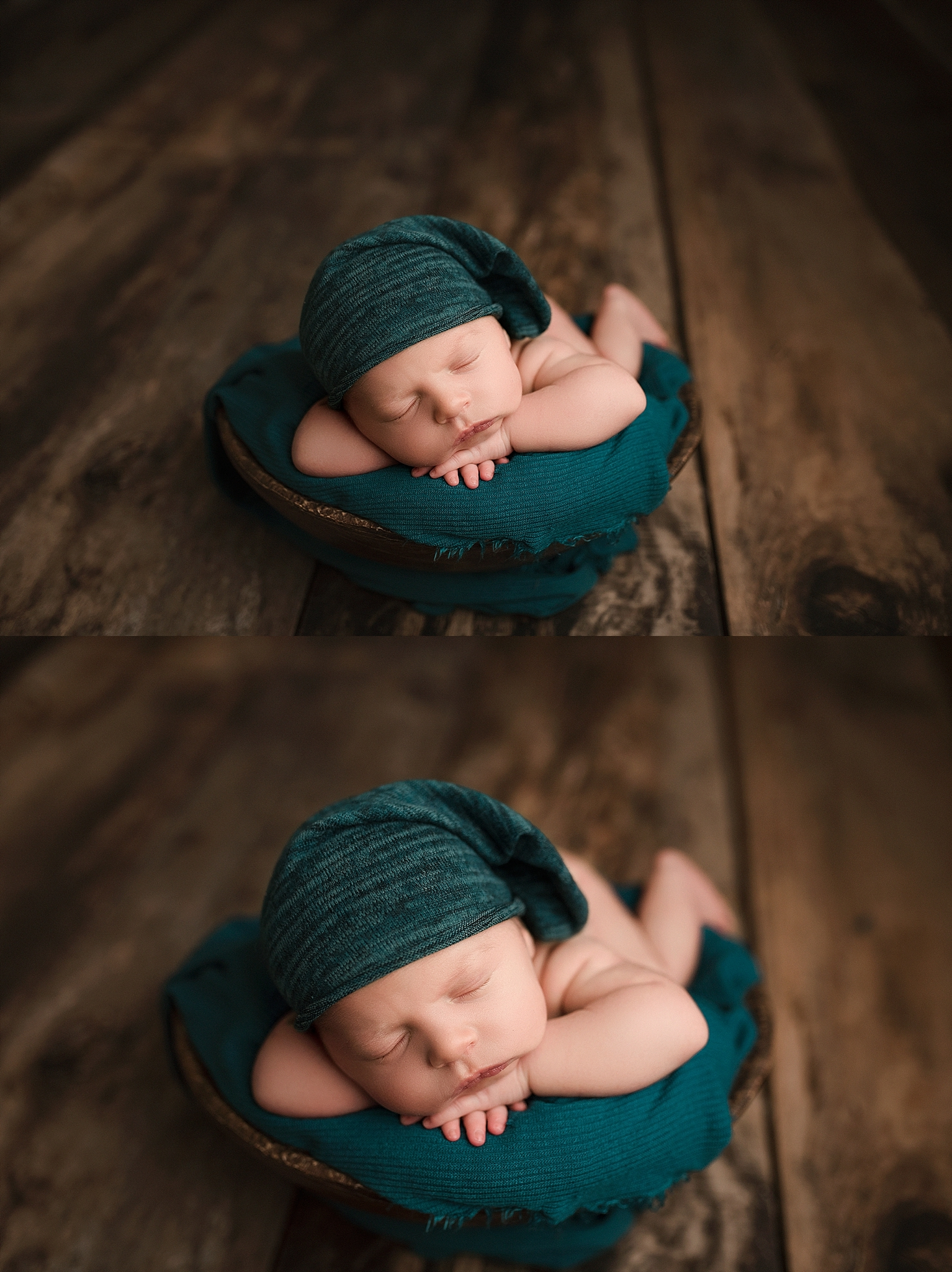 Newborn boy prop posing ideas