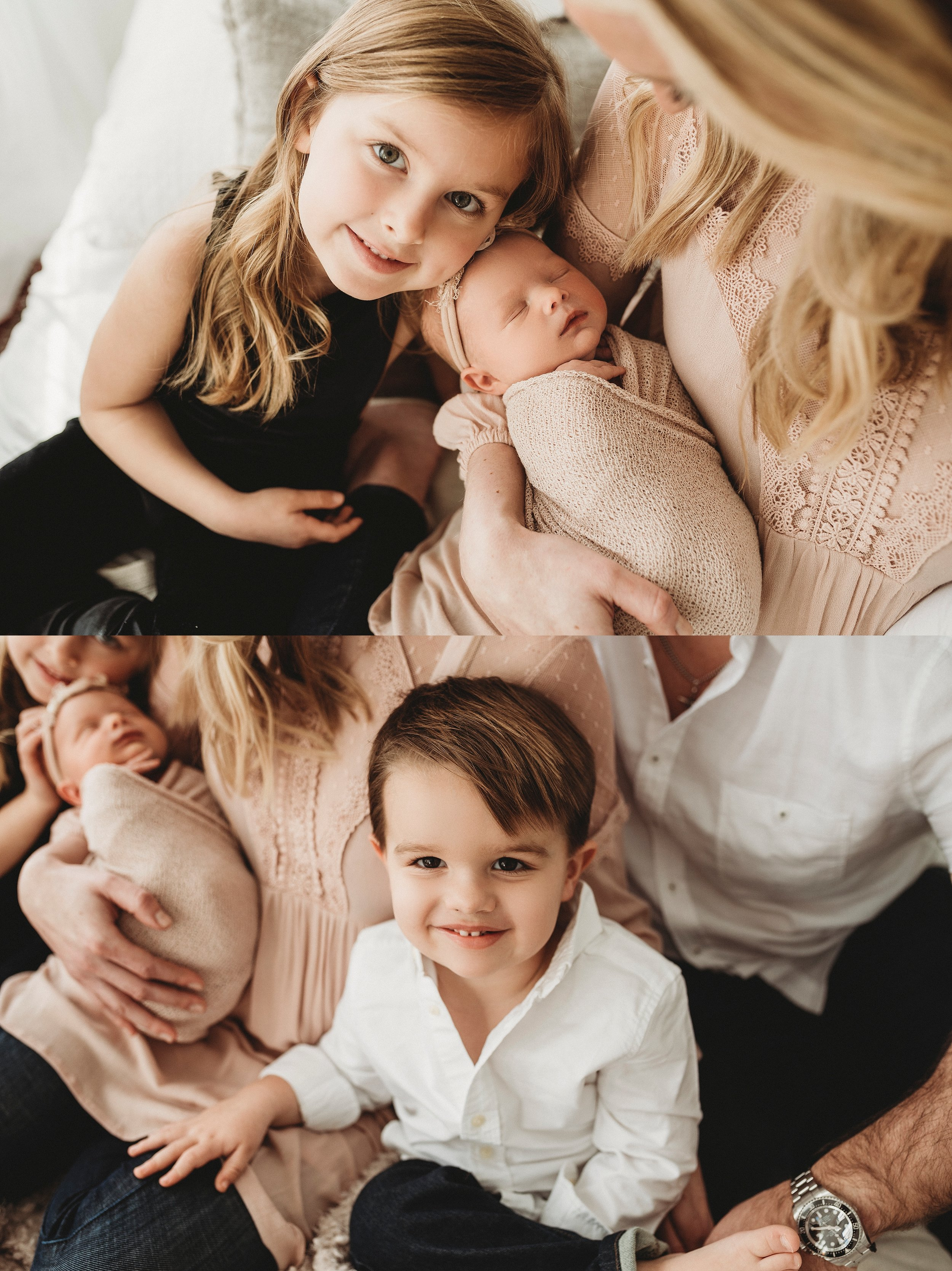 Lifestyle sibling ideas with baby
