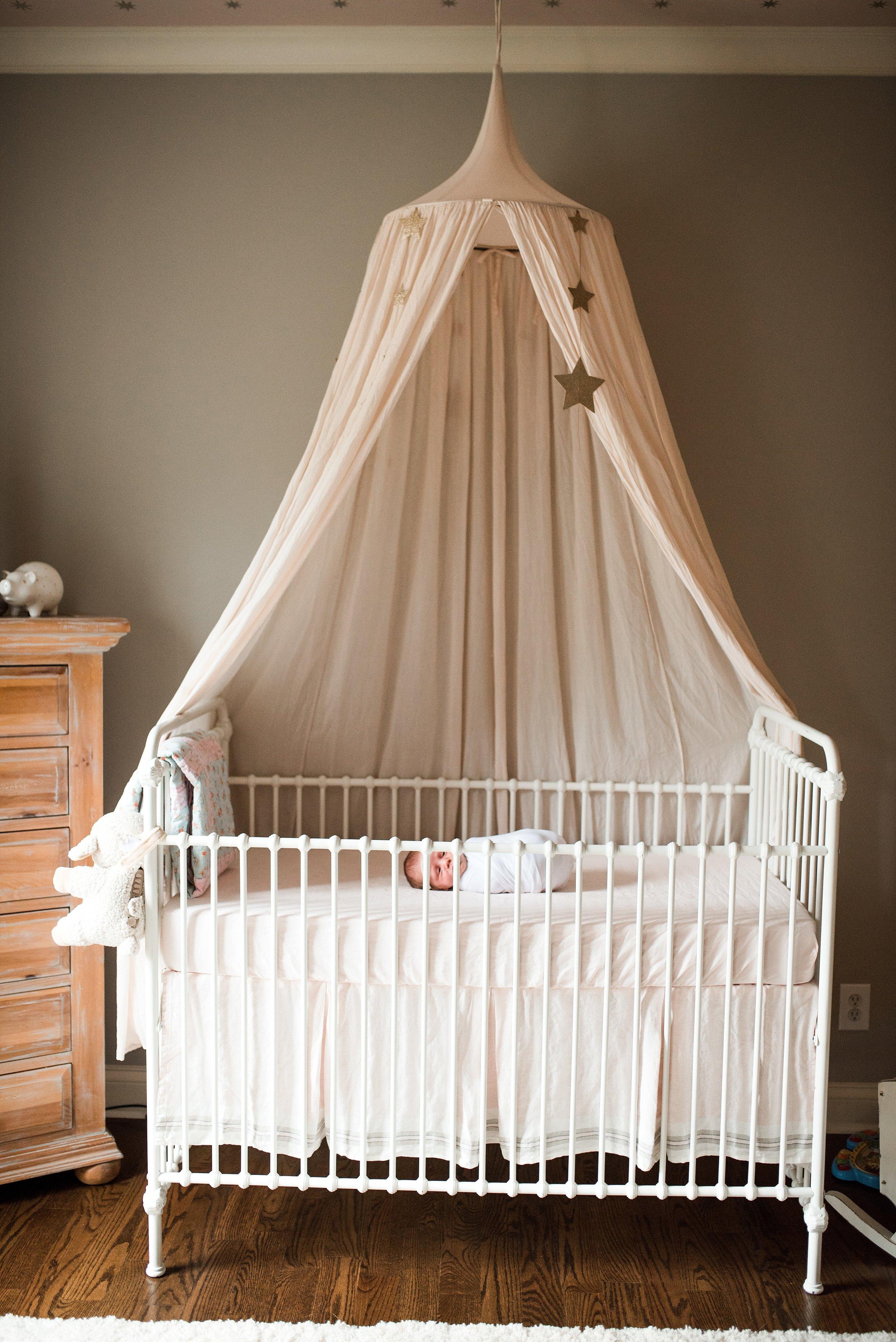 baby girl lifestyle newborn photos