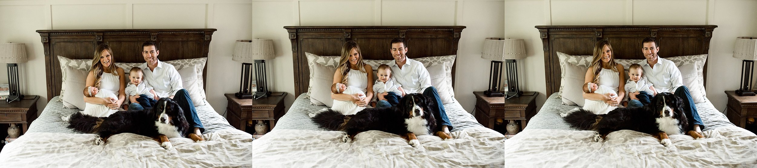Family lifestyle photos with dog