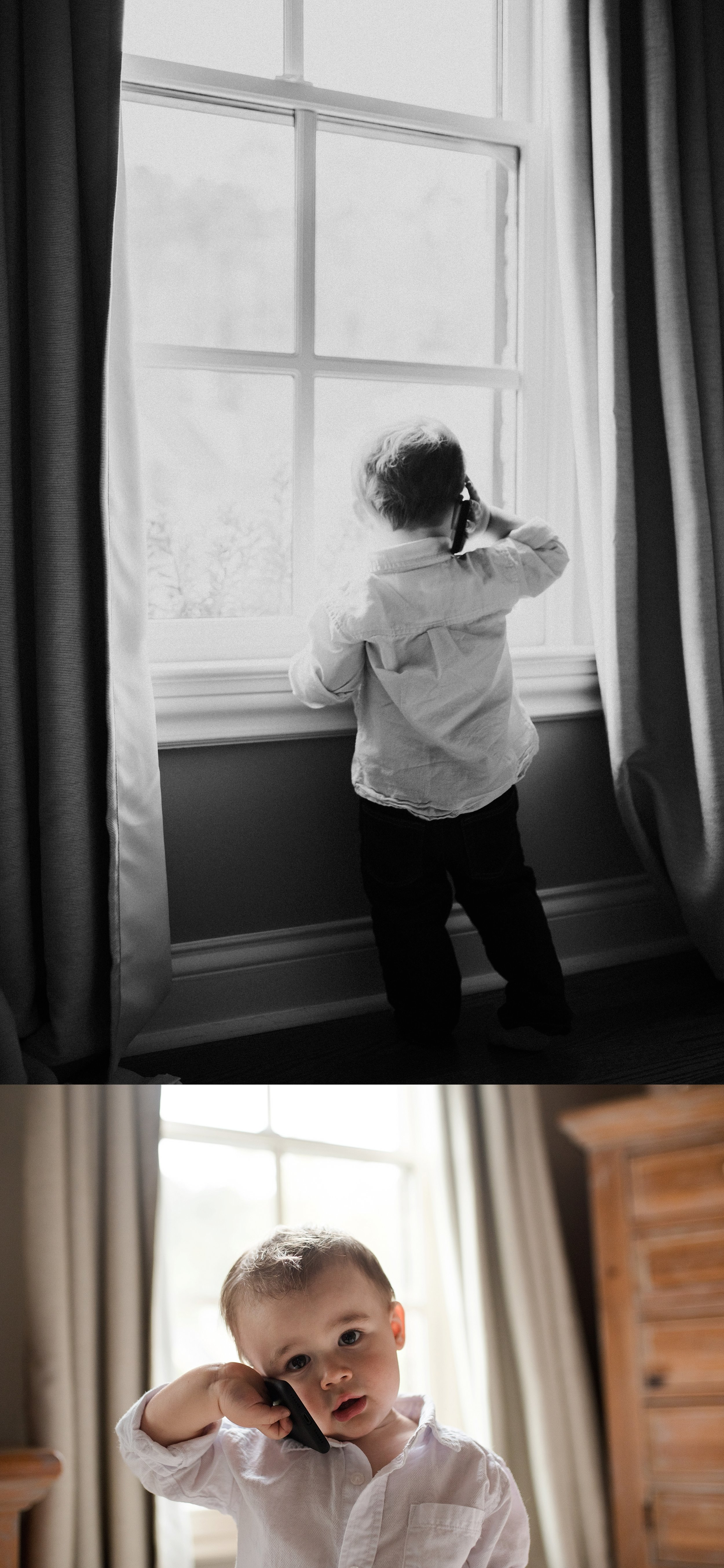 Lifestyle family photos little boy