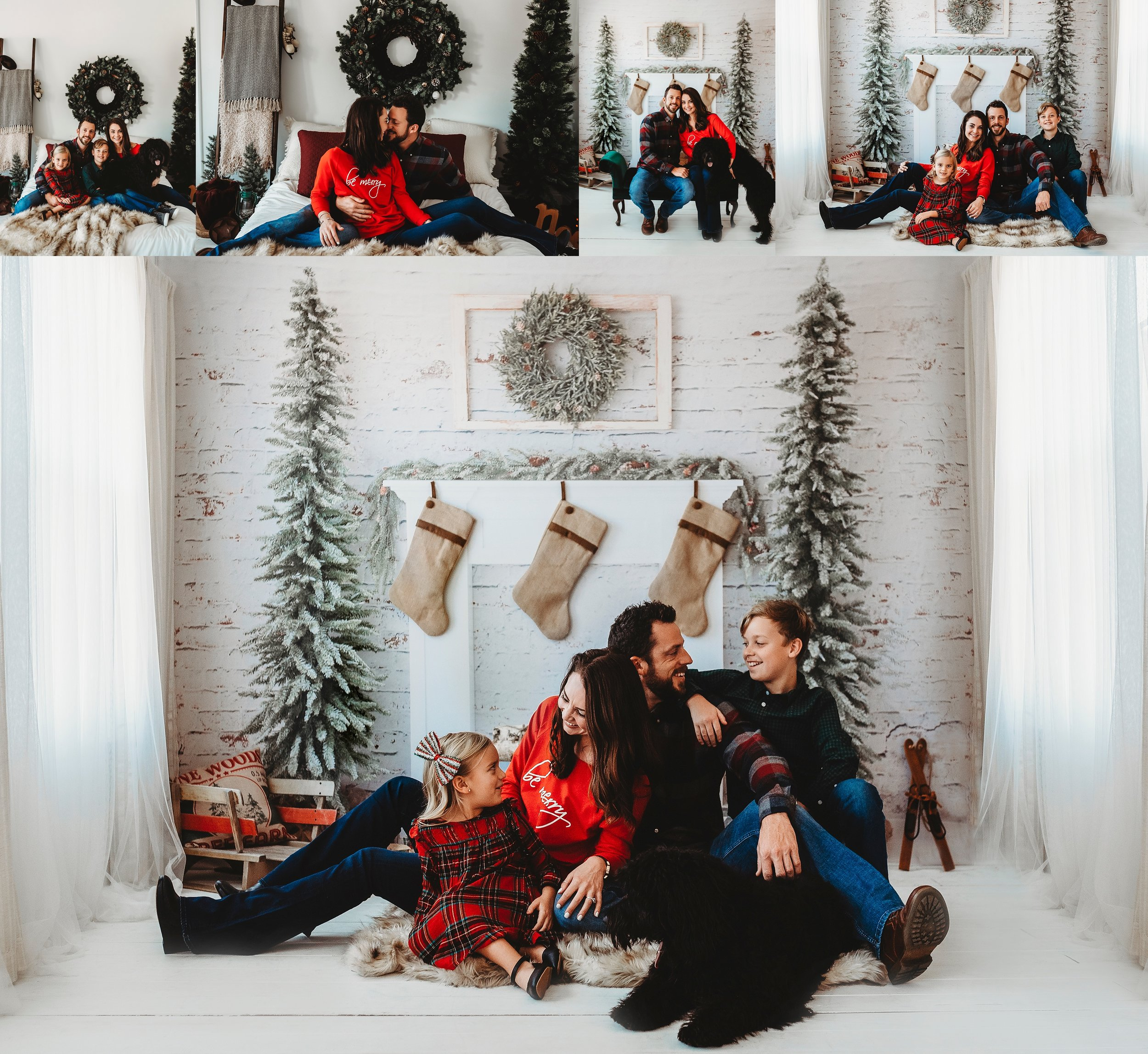 Fun Christmas family photos