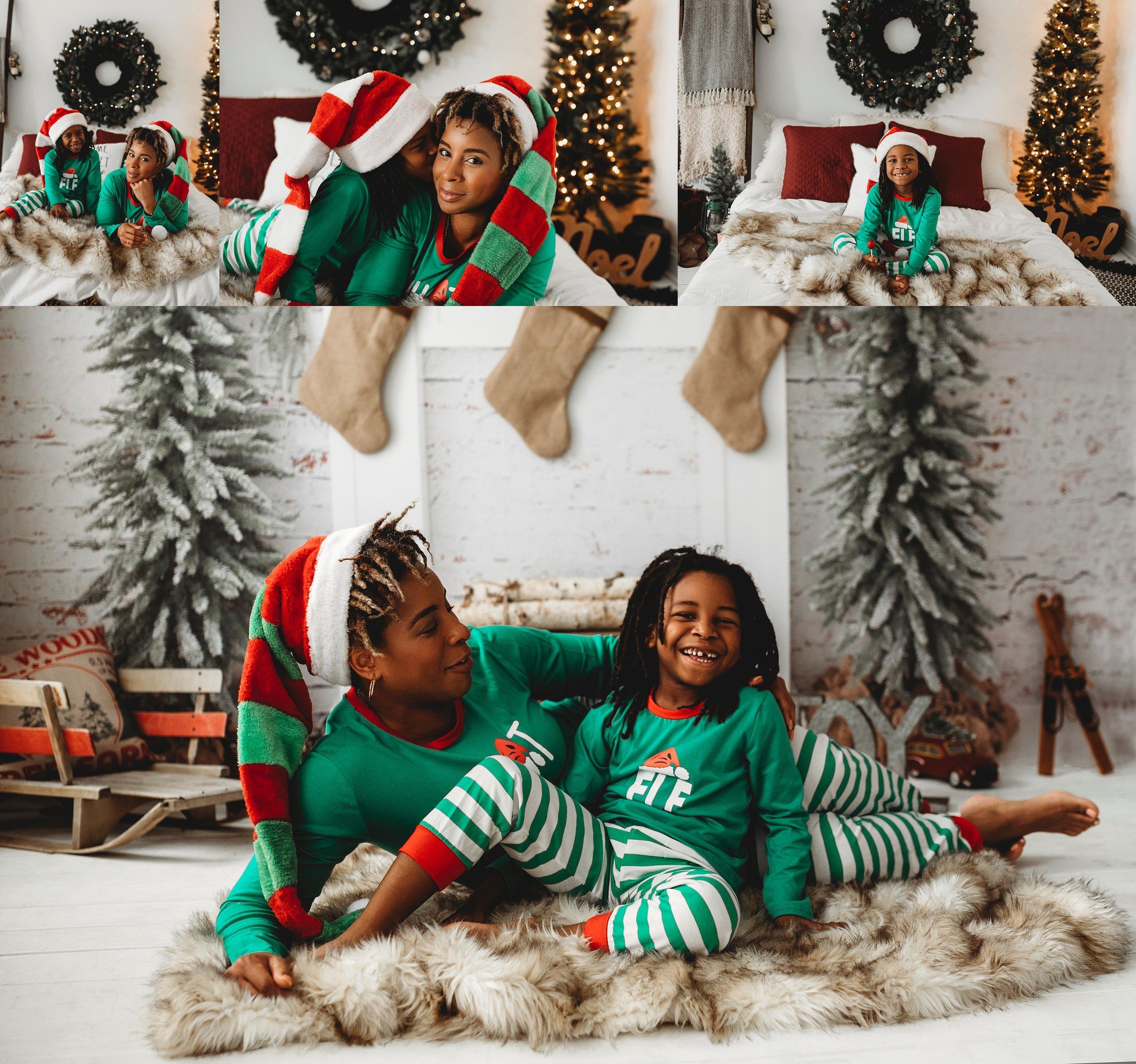Christmas PJ Photos