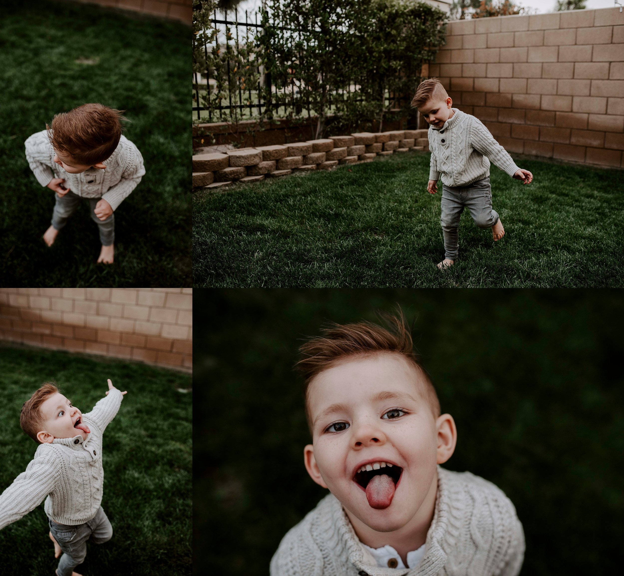 Oh Hudson, how I love you and that personality!!!!!!!! He has the biggest heart for a little boy. He is loving, kind, funny and fierce. The perfect mixture.