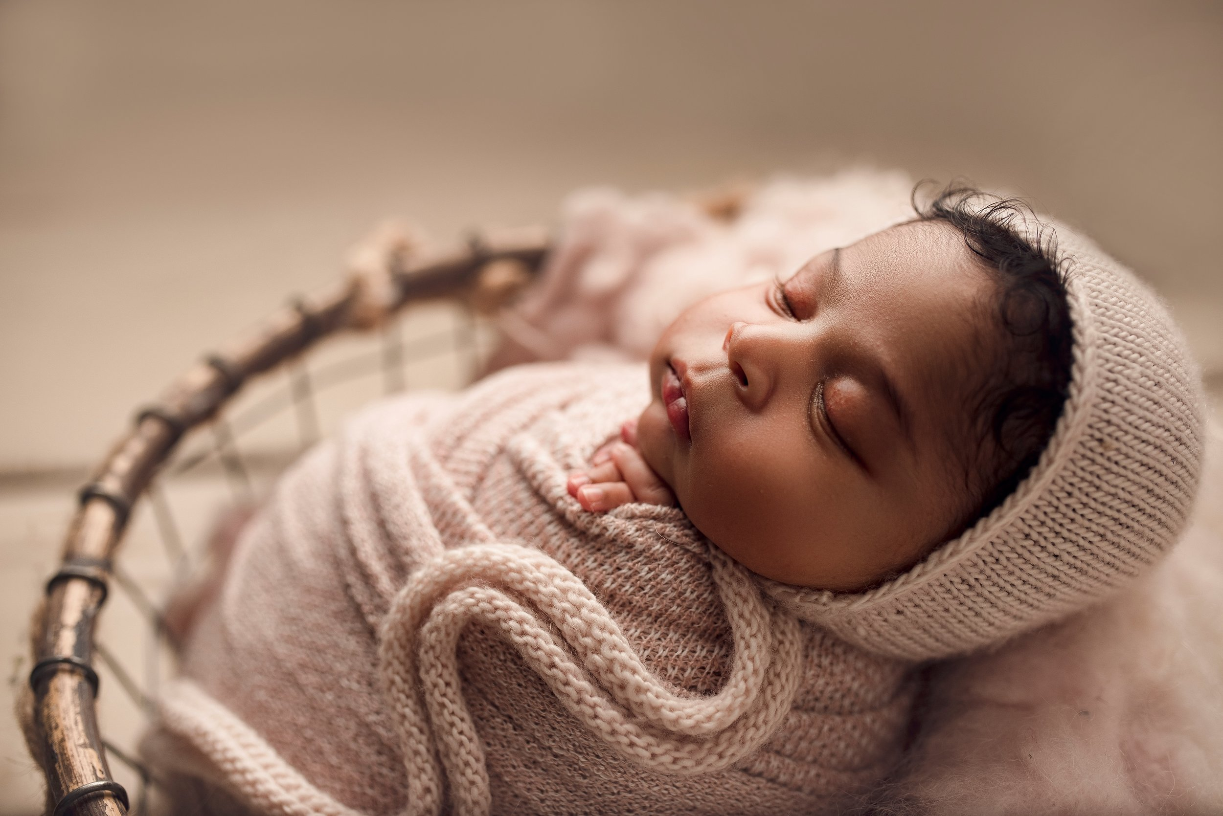 newborn girl photo ideas