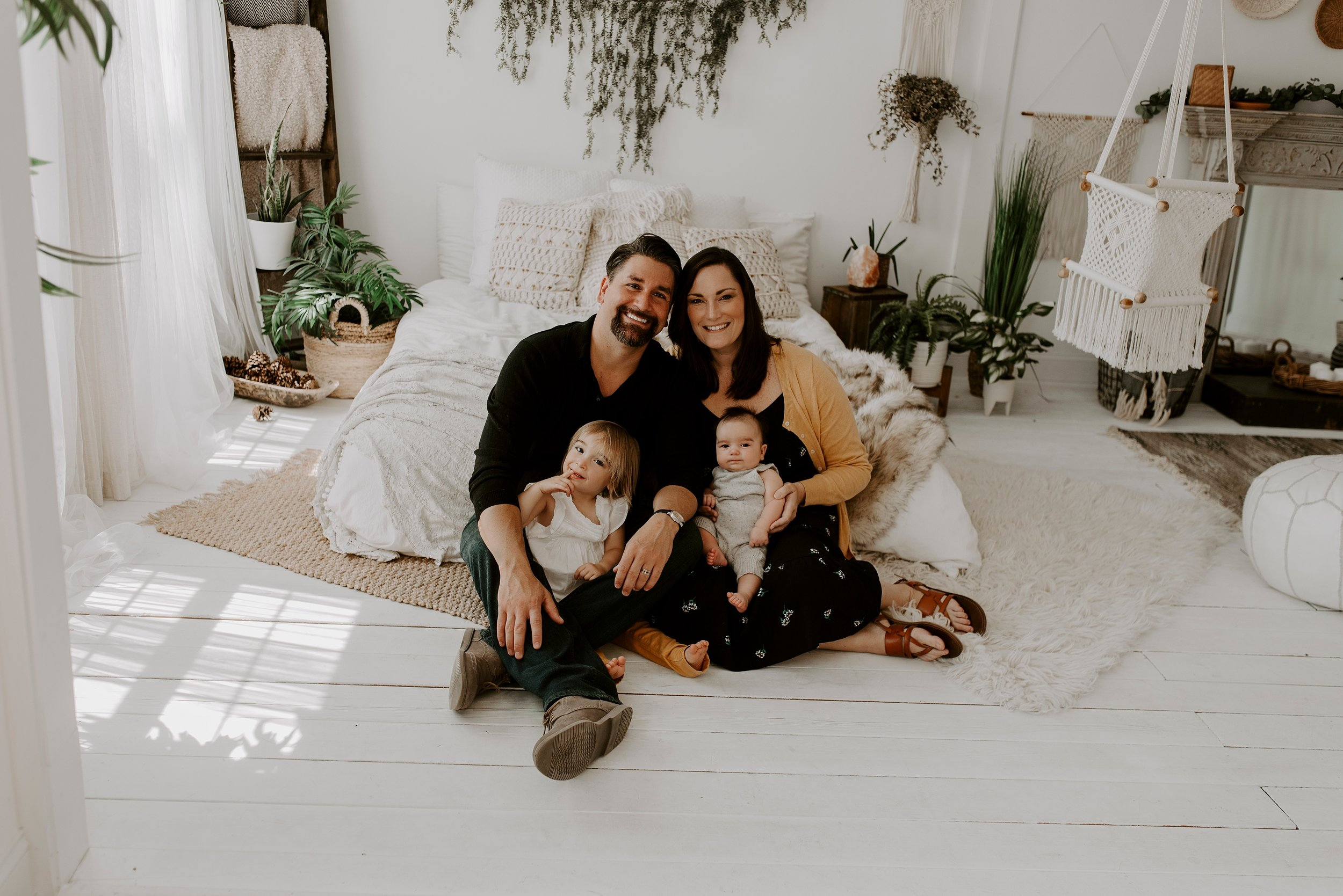 studio family photo ideas