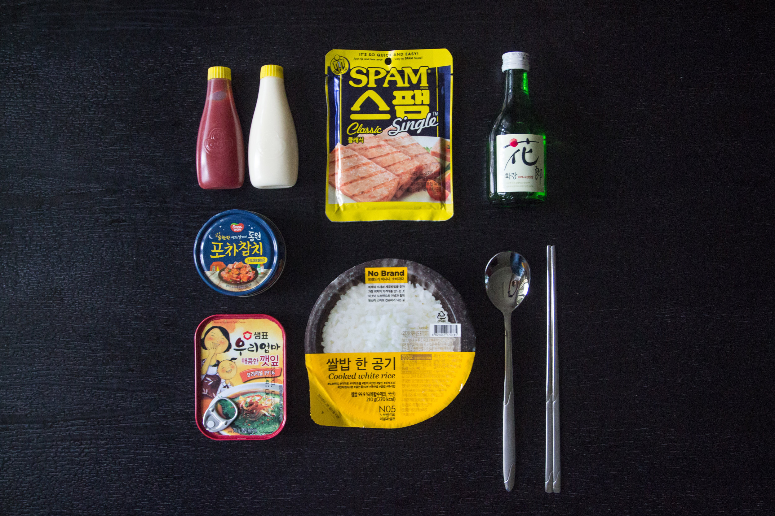 Single-serving foods, readily available at supermarkets and convenience stores, are pictured.