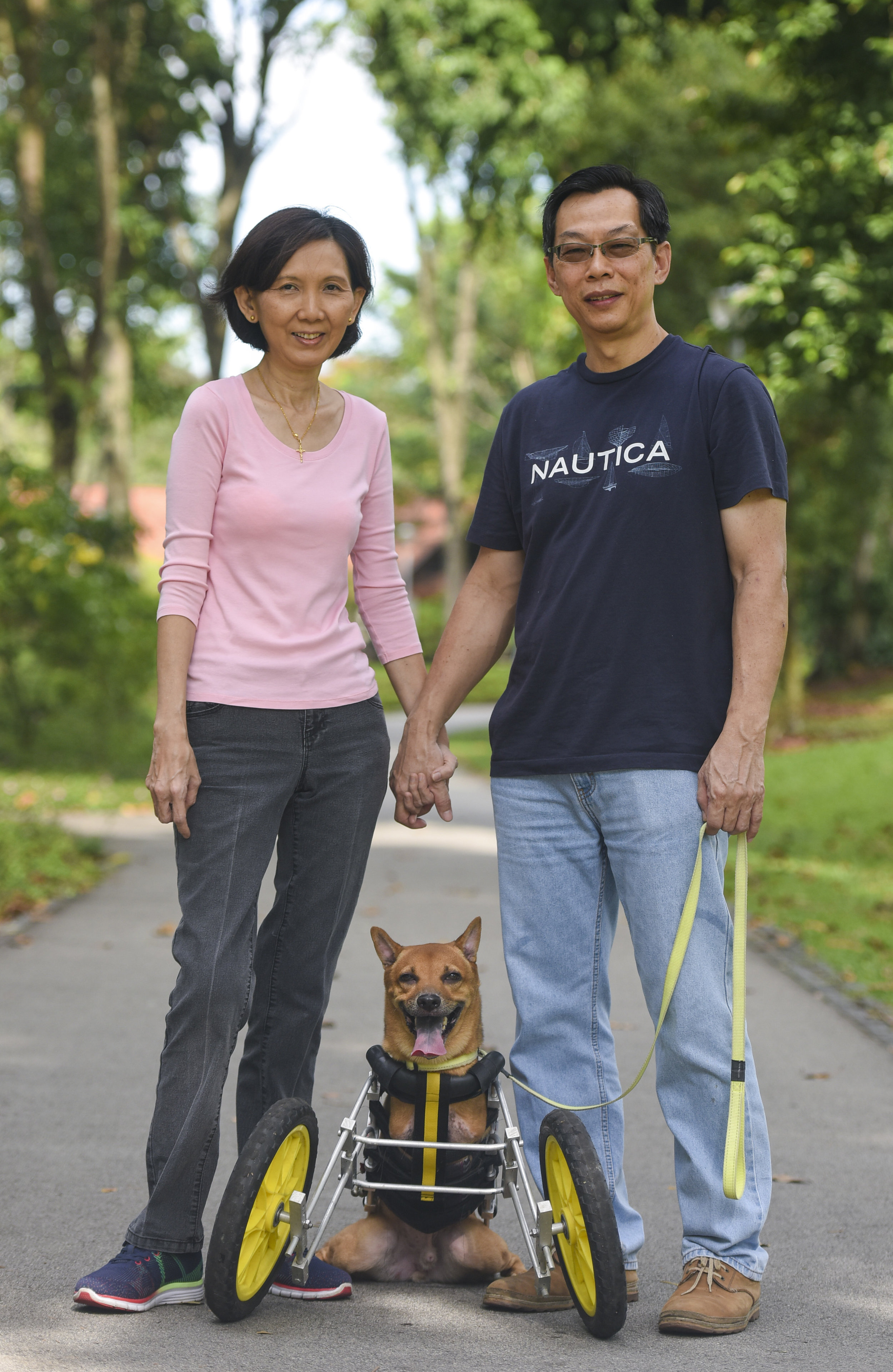 DOROTHY LOH & MICHAEL TAN  Owners of Happy Wheels for Furkids