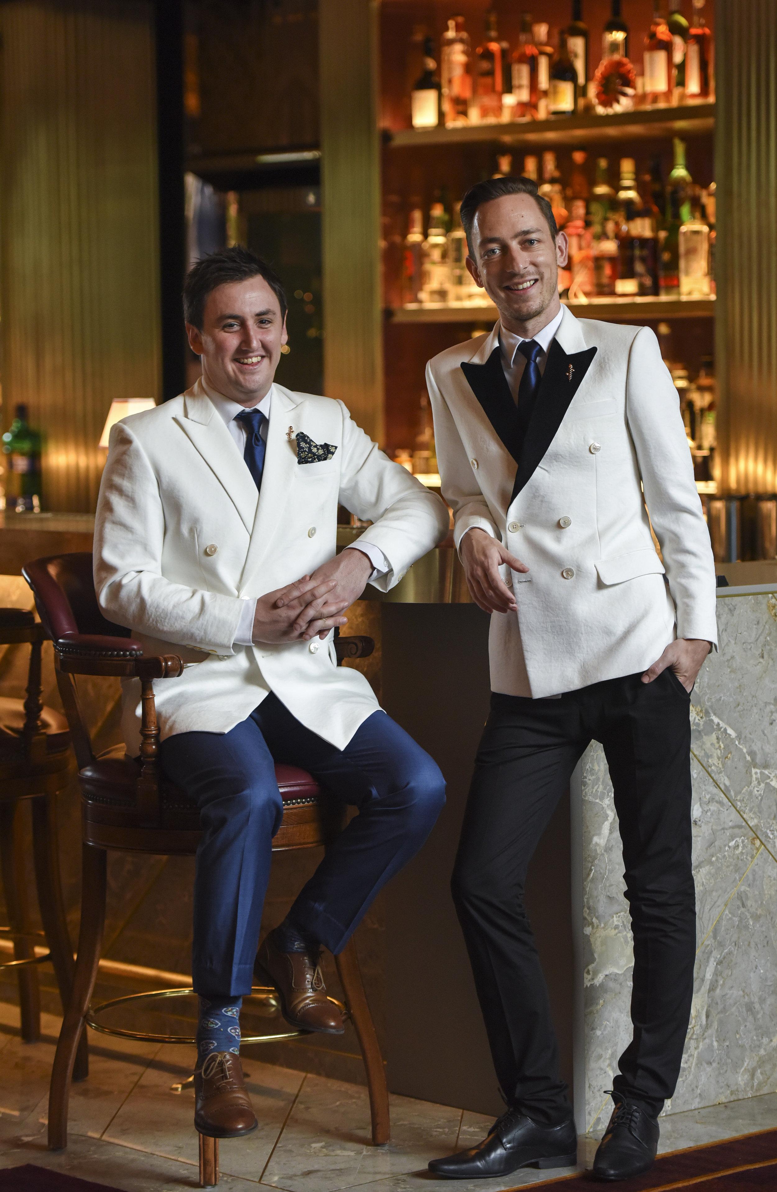 "JASON WILLIAMS & ROMAN FOLTAN  ""Master of Gin"" and Head Bartender of ATLAS Bar Singapore"
