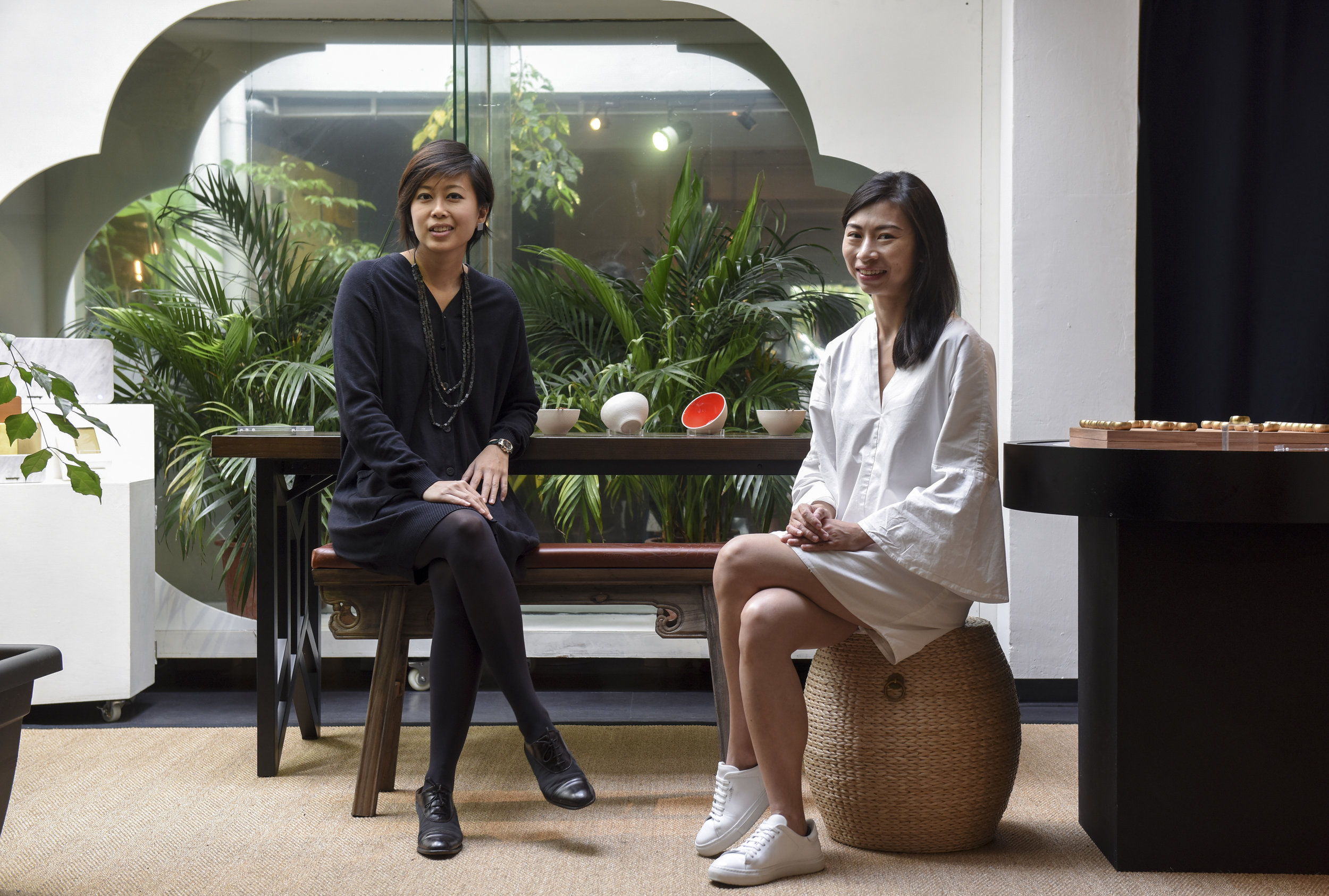 JESSICA WONG & PAMELA TING  Co-founders of Scene Shang