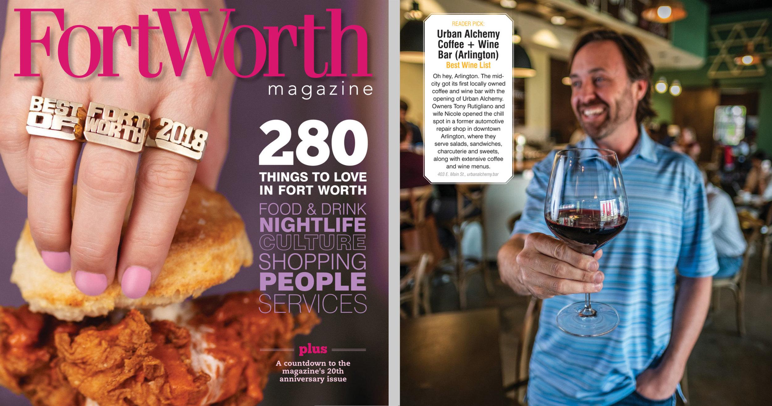 Fort Worth Magazine, June 2018