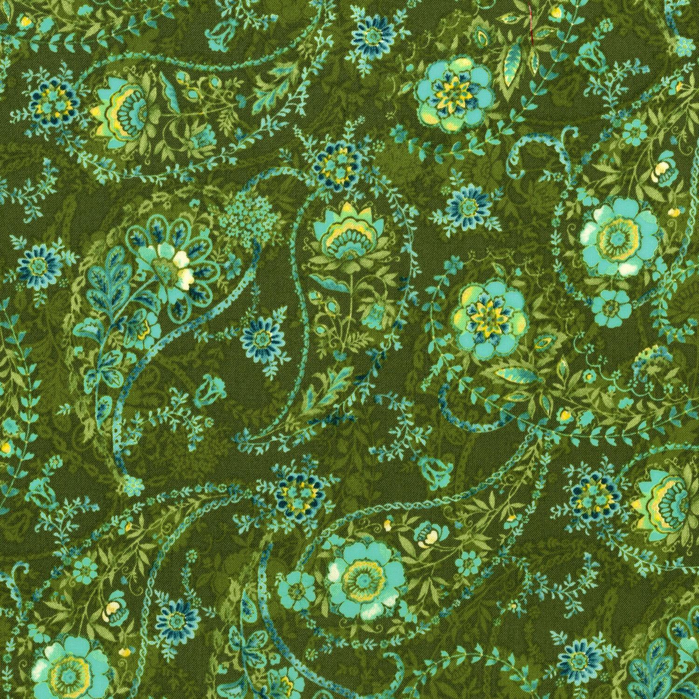 3080-001 ECHARPE-OLIVE