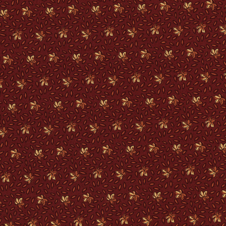 3055-001 LEAF SPRINKLE-BRICK RED