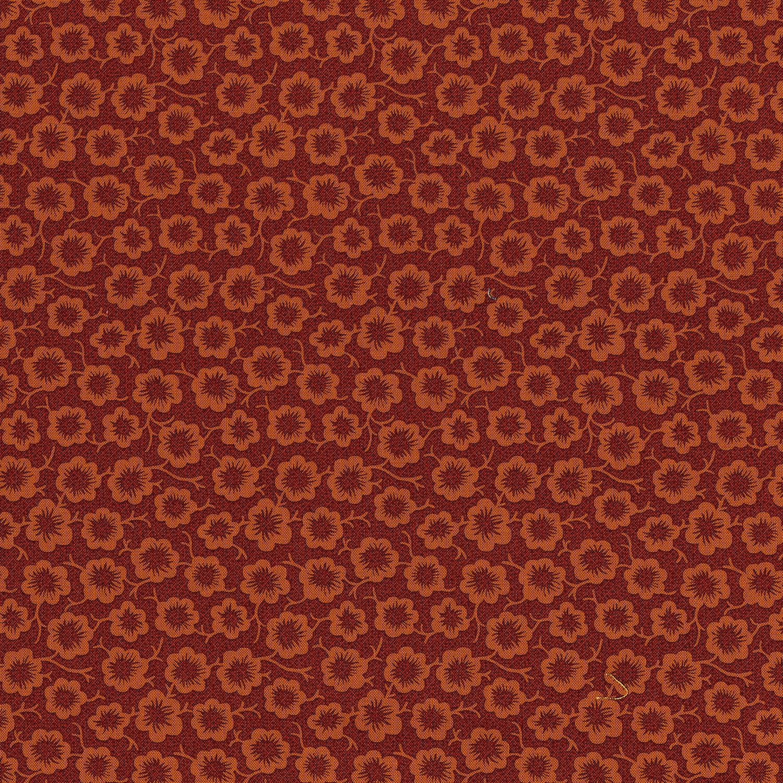 3058-001 SIMPLE BLOOM-RED/ORANGE