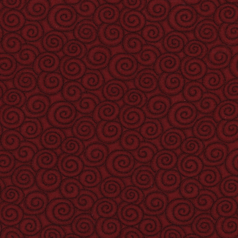 3059-001 SWIRL-BRICK RED