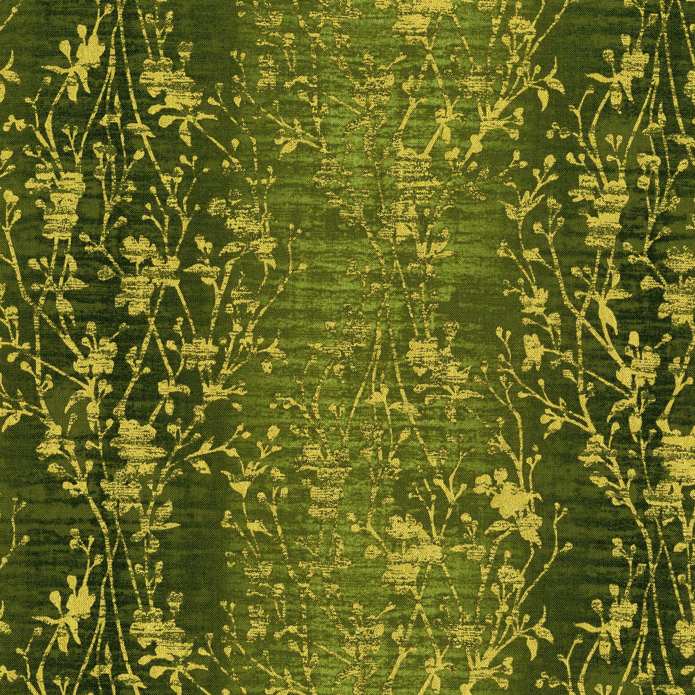 3022-002 VELVETY VINES-PEPPER GRASS