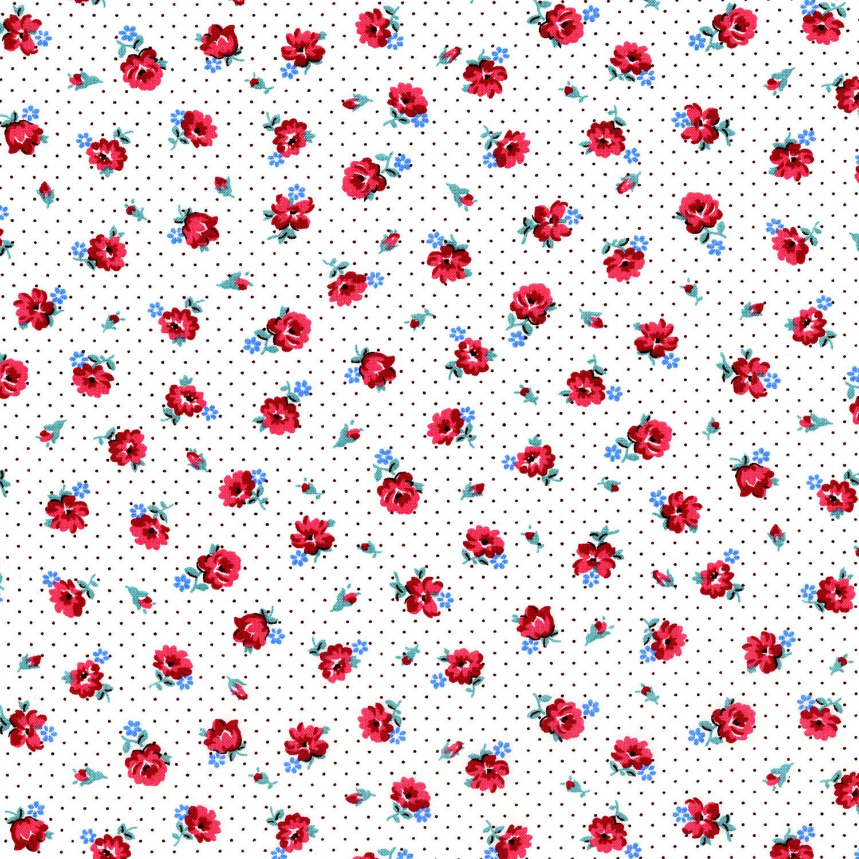 2971-002 PINDOT POSIES - ROSE RED