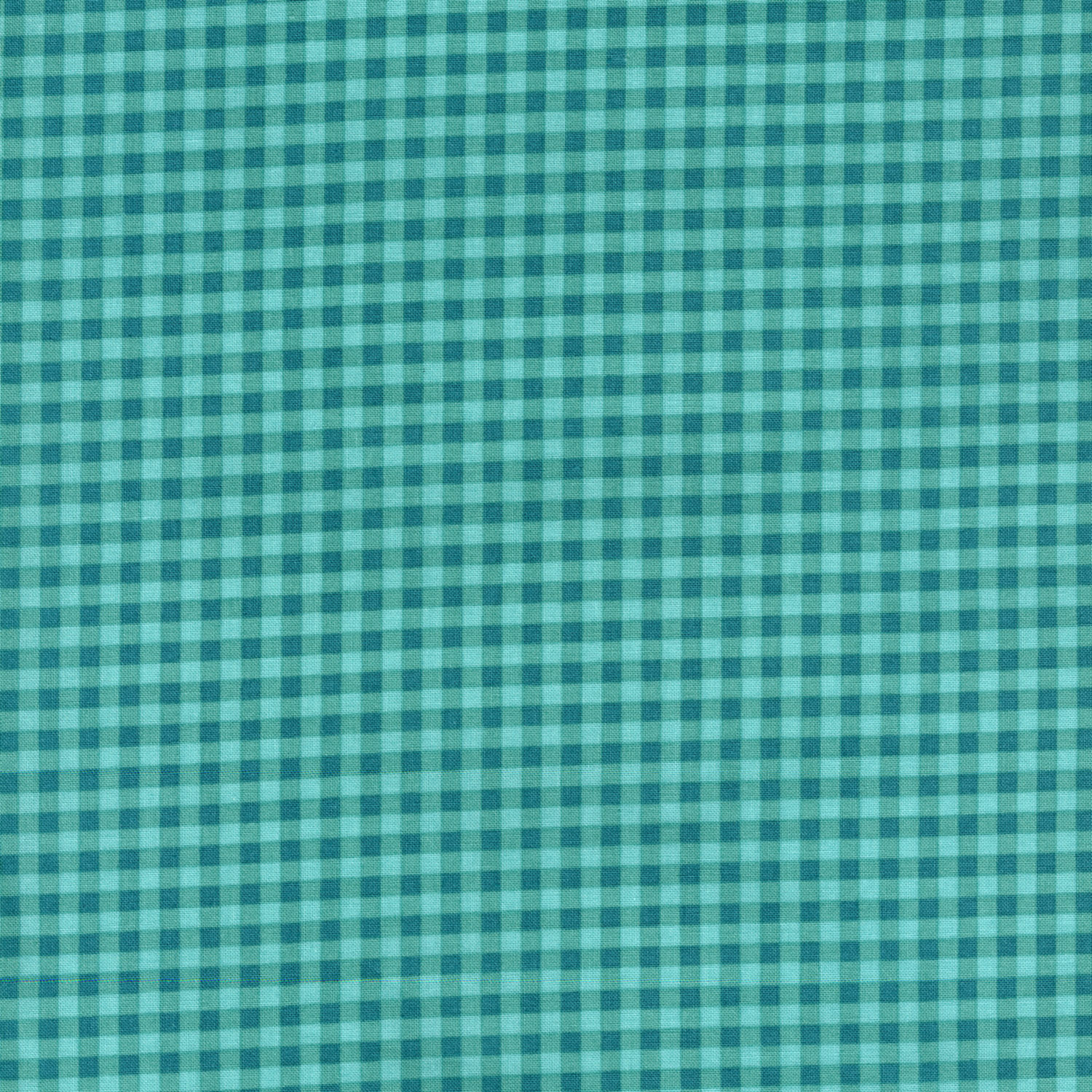 2929-001 SMALL GINGHAM - TEAL