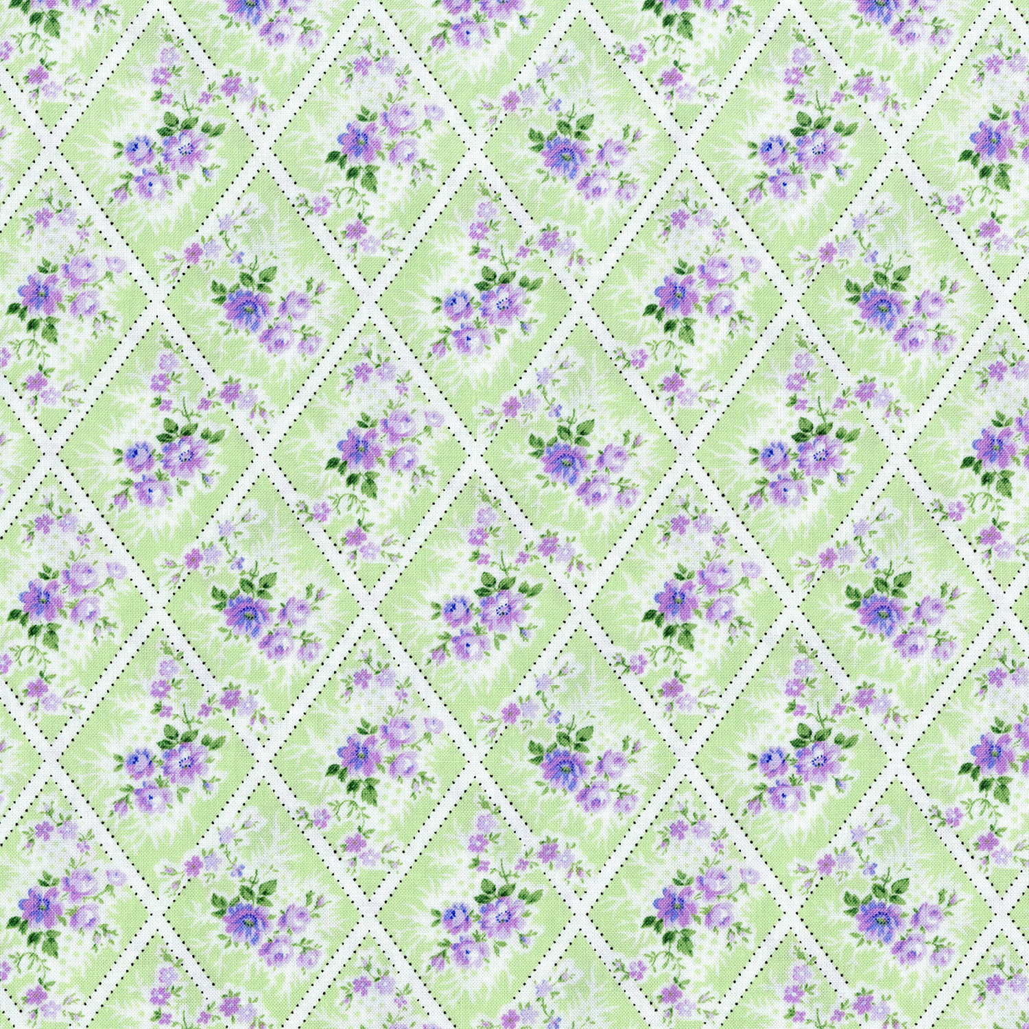 3147-001  MINIATURE BOUQUET-  LAVENDER