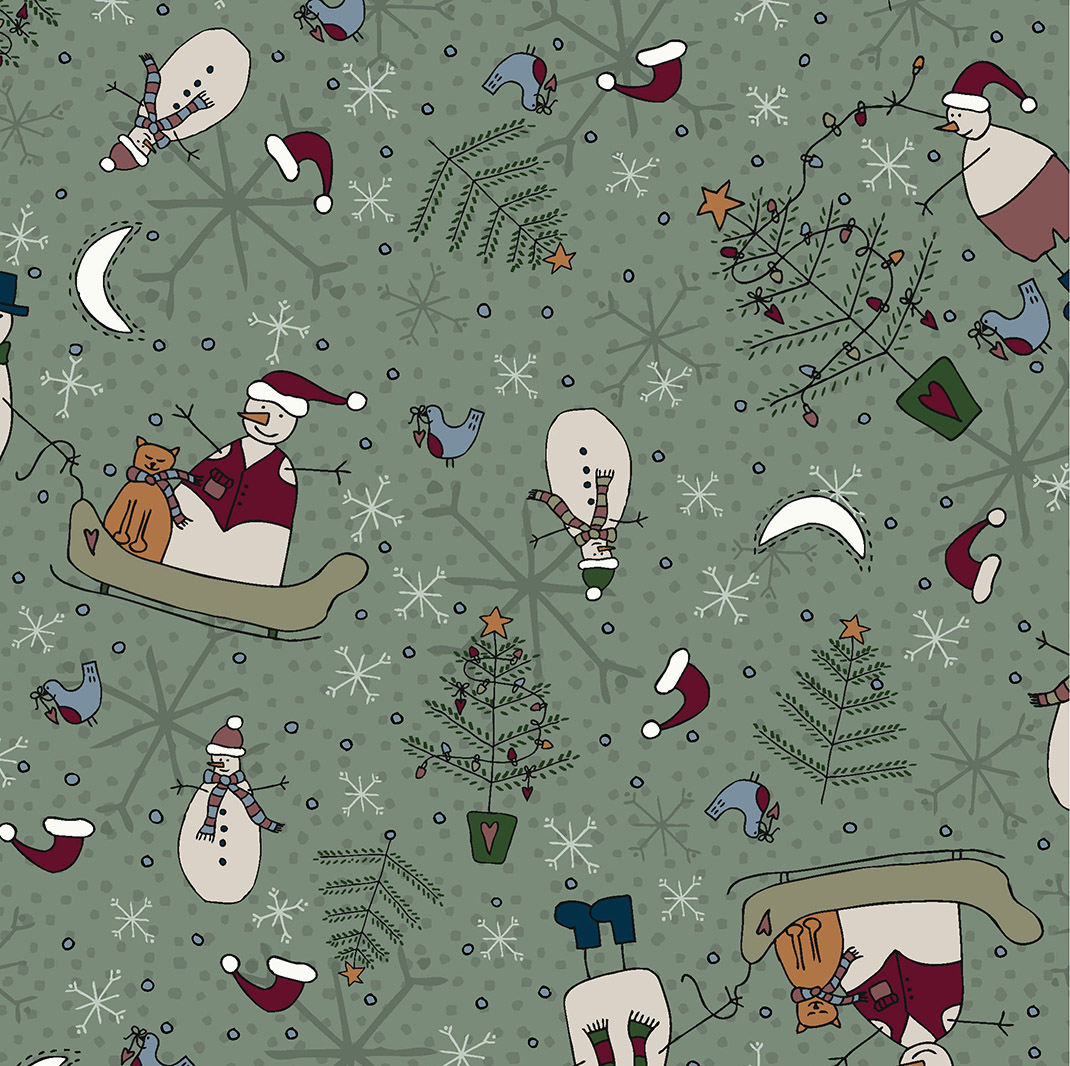 3100-001 MAGIC OF CHRISTMAS-BASIL