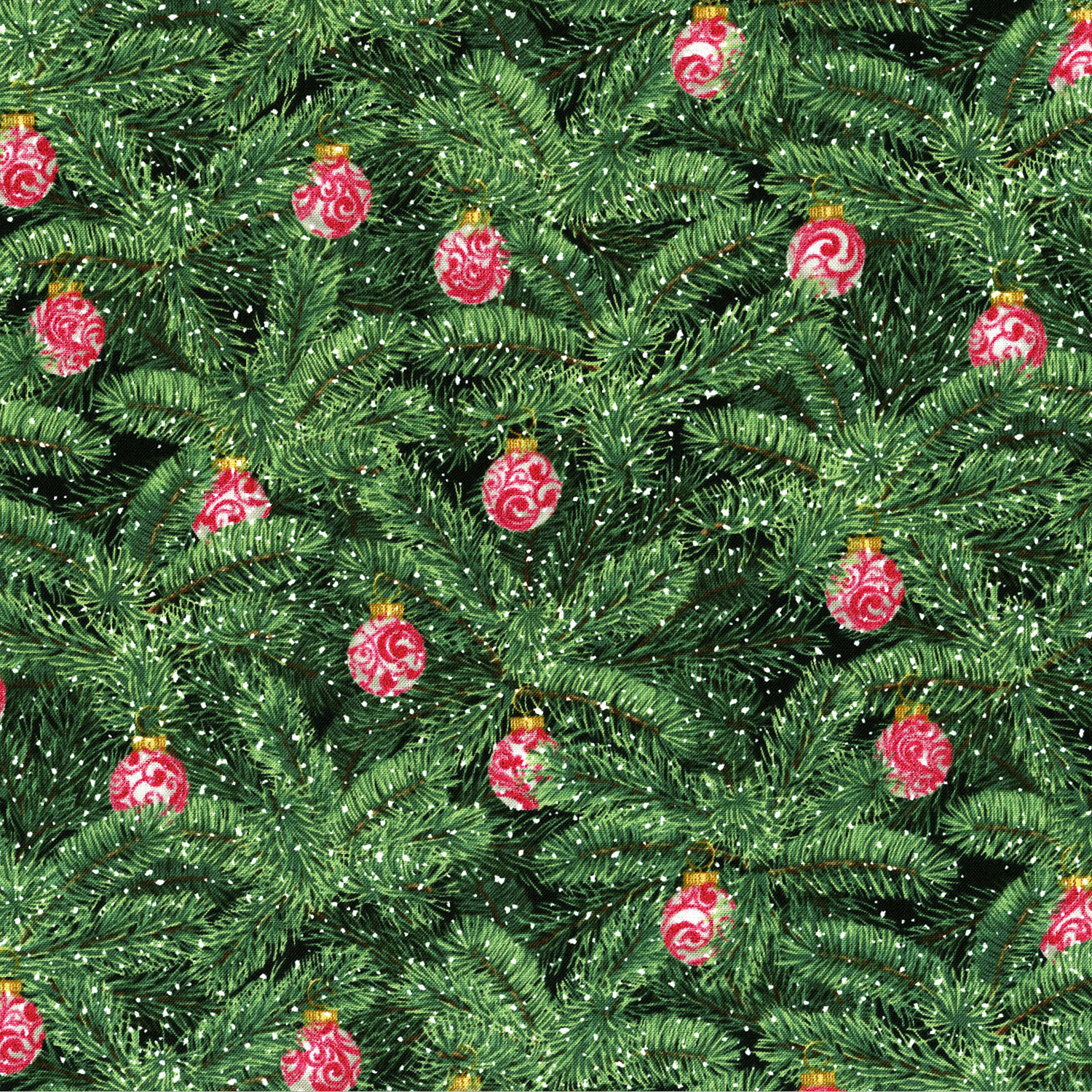 3154-001  BRILLIANT BAUBLES-RADIANT EVERGREEN
