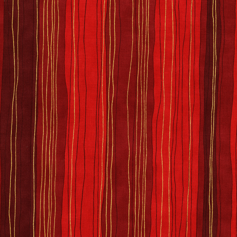 3023-005 STERLING STRIP-SCARLET
