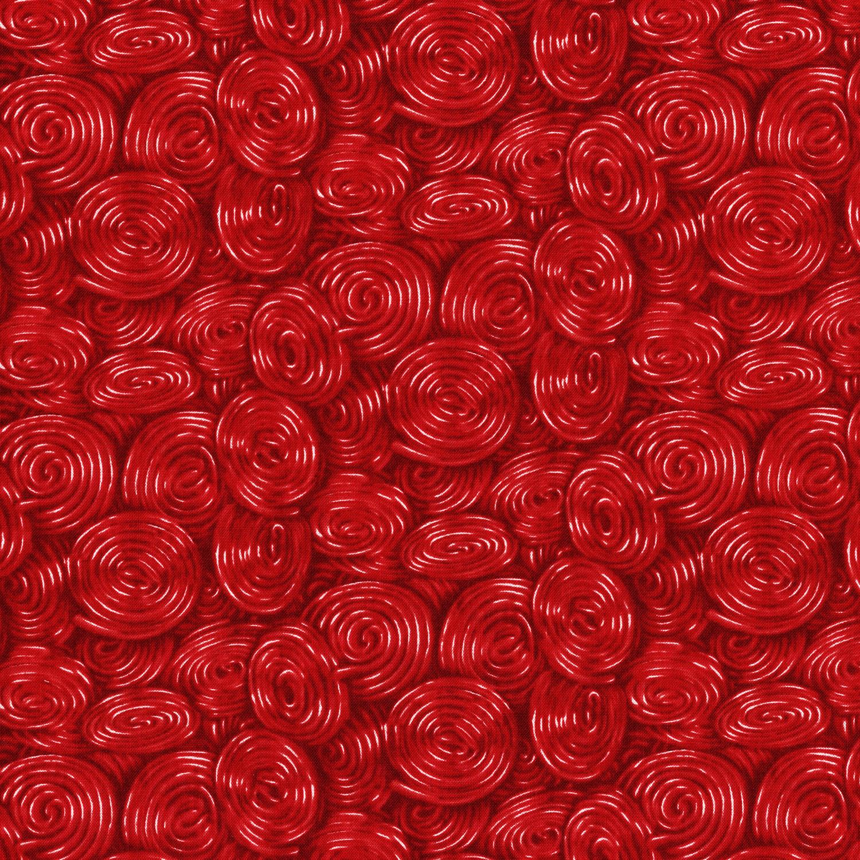 3112-002 LICORICE WHIRL-RED
