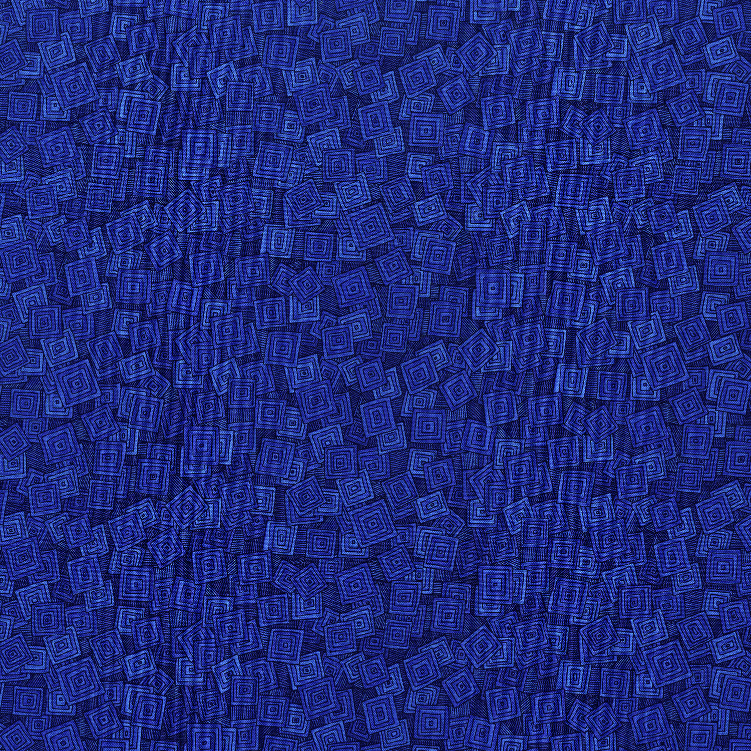 3215-001  OVERLAPPING SQUARES-BLUEBERRY