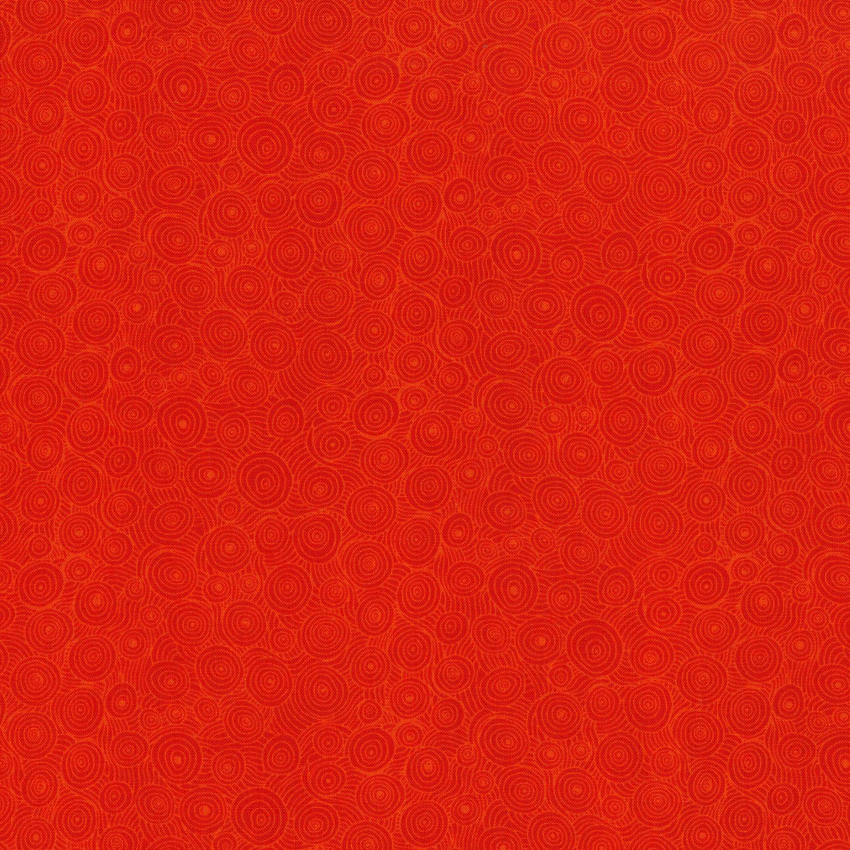 3217-004 INTERTWINING PUDDLES-TOMATO